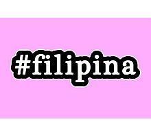 Filipina - Hashtag - Black & White Photographic Print