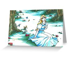 Princess of Light (Zelda: A Link to the Past) Greeting Card