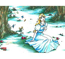 Princess of Light (Zelda: A Link to the Past) Photographic Print