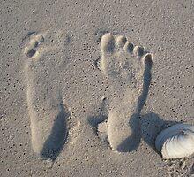 footprints by monicamona
