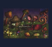 Mushroom - Deep in the Bayou One Piece - Long Sleeve