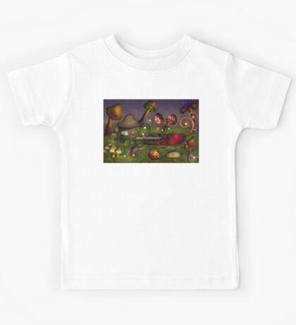 Mushroom - Deep in the Bayou Kids Tee