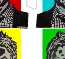 Zombie Chris Hardwick @nerdist fanart Sticker