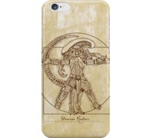 Vitruvian Hunter (NO TEXT) iPhone Case/Skin