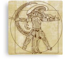Vitruvian Hunter (NO TEXT) Canvas Print