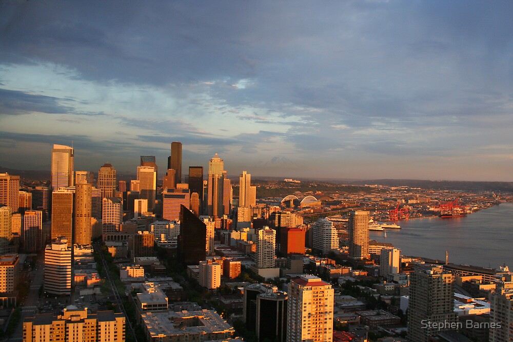Seattle Twilight by Stephen Barnes