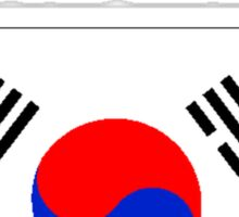 I'd Rather Be In South Korea Sticker