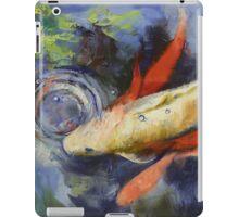 Koi and Water Ripples iPad Case/Skin