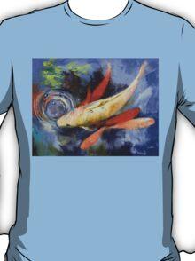 Koi and Water Ripples T-Shirt