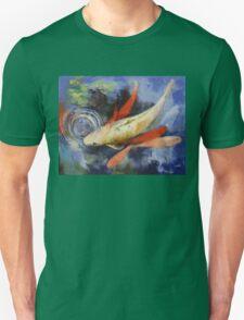 Koi and Water Ripples Unisex T-Shirt
