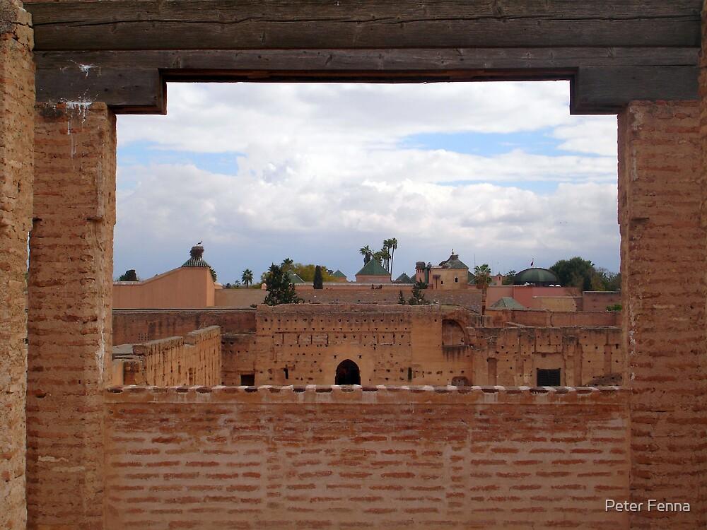 El Badi Palace by Peter Fenna