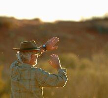Desert Glare,Simpson Desert,Australia by Joe Mortelliti