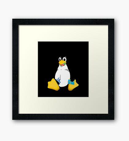 Linux is OP Framed Print
