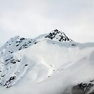 Snow Covered Mountain Peak by DPalmer