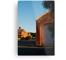Hawker Railway Station,Outback South Australia Metal Print