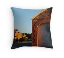 Hawker Railway Station,Outback South Australia Throw Pillow