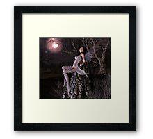 Moonbaking Framed Print