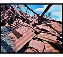 Rusty Heap Photographic Print
