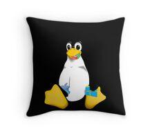 Linux is OP Throw Pillow