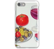 Wine and Olives iPhone Case/Skin