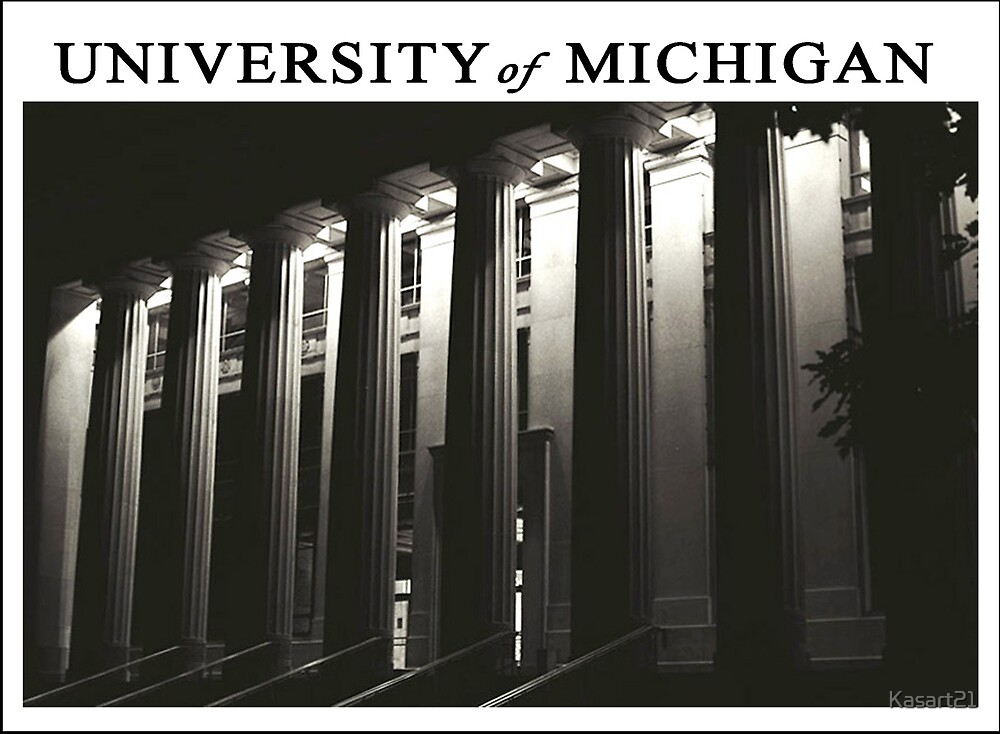 U of M Postcard No 1 by Kasart21