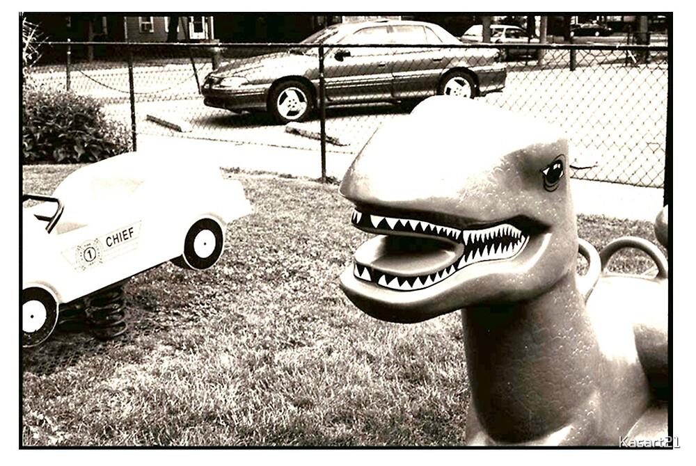 Dino Yard by Kasart21