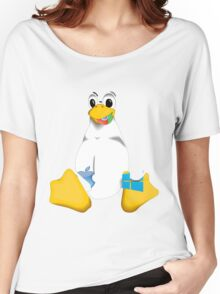 Linux is OP Women's Relaxed Fit T-Shirt