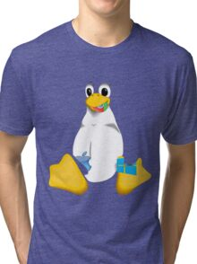 Linux is OP Tri-blend T-Shirt