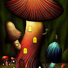 Mushroom - Magic Mushroom by Mike  Savad