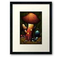 Mushroom - Magic Mushroom Framed Print