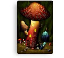 Mushroom - Magic Mushroom Canvas Print