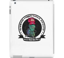 Dead Men Walkin' iPad Case/Skin
