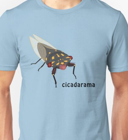 Cicadarama - Cherrynose cicada Unisex T-Shirt