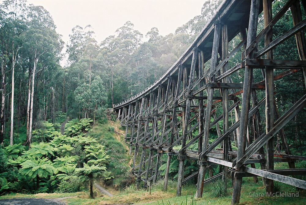 Trestle Bridge, Victoria by Clare McClelland