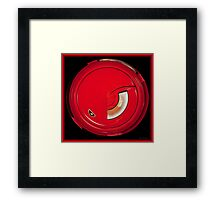 Sport Red Framed Print