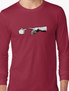 God and The Machine Hands Long Sleeve T-Shirt
