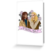 Fili and Kili - in denial about the Battle of the Five Armies Greeting Card