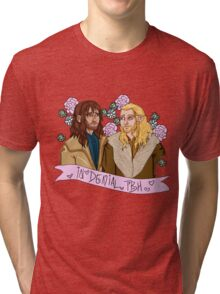 Fili and Kili - in denial about the Battle of the Five Armies Tri-blend T-Shirt