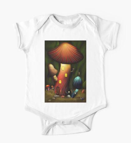 Mushroom - Magic Mushroom One Piece - Short Sleeve
