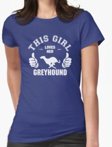 This Girl Loves Her Greyhound T-Shirt