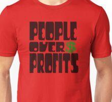 People over profits Unisex T-Shirt
