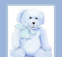 Blue Bear by Mariana Musa