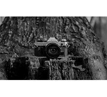 Behind the Lens Photographic Print