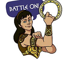We Can Do It, Xena Style by CaptainPolaris