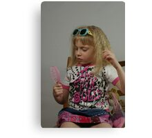 Pink Doll Canvas Print
