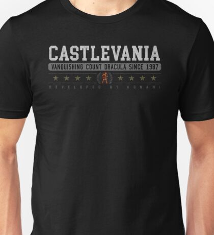 Castlevania - Vintage - Black Unisex T-Shirt