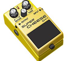 Super Cheese Guitar Pedal by dcescott