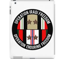 OIF and OEF deployments iPad Case/Skin