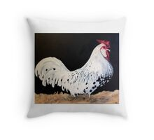 King of the Pen Throw Pillow