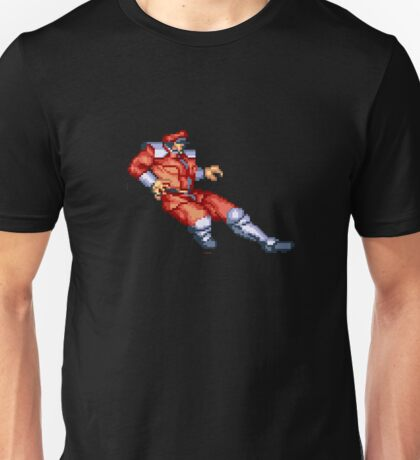 Street Fighter 2 M Bison Unisex T-Shirt